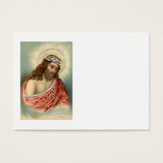 Kristen kristendomen Nimbus för Jesus Kristus Visitkort