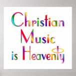 Kristen musikaffisch affischer