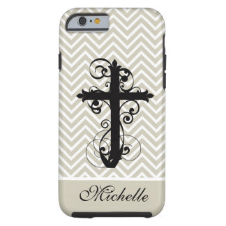 Kristen virvla runt arg anpassningsbar tough iPhone 6 case