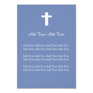 Kristet bröllop, dop, begravnings- beställnings- 8,9 x 12,7 cm inbjudningskort