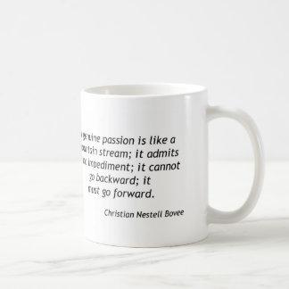 Kristna Bovee - äkta passion Kaffemugg