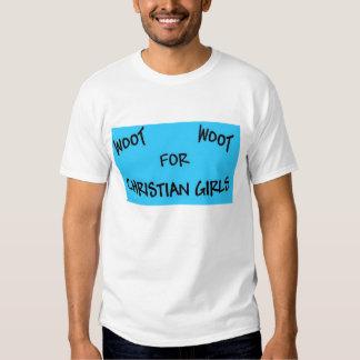 Kristna flickor tshirts