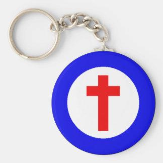 Kristna Roundel Rund Nyckelring