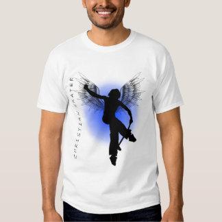 Kristna skaterblått tröjor