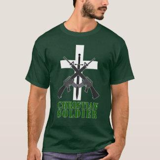 Kristna soldatmanar skjorta tshirts