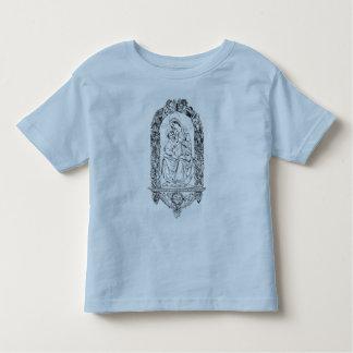 Kristna symbolsmåbarn skjorta tee shirts