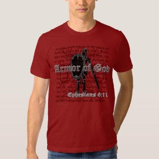 Kristna T-tröja, manar Armor av gudT-tröja Tee
