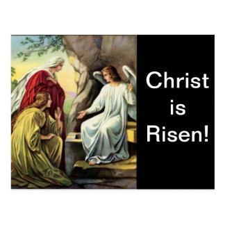 Kristus är uppstigen, honom är säkert uppstigen! vykort