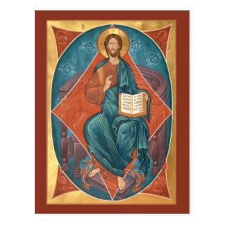 Kristus i härlighetvykort vykort