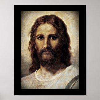 Kristus med barmhärtiga ögon poster