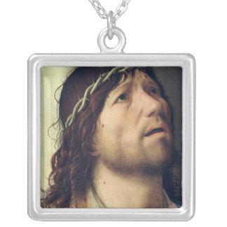 Kristus på kolonnen, c.1475 silverpläterat halsband