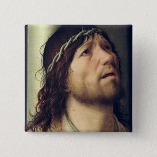 Kristus på kolonnen, c.1475 standard kanpp fyrkantig 5.1 cm