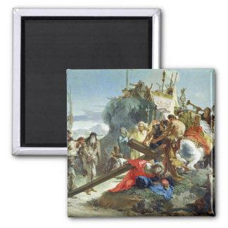 Kristus på vägen till calvaryen, 1749 (olja på kan magnet