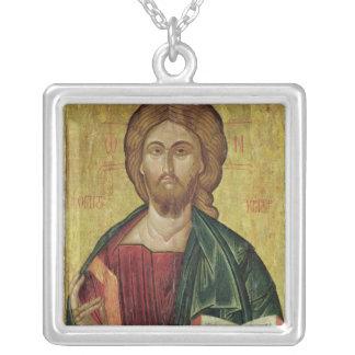 Kristus Pantocrator, 1607 Halsband Med Fyrkantigt Hängsmycke