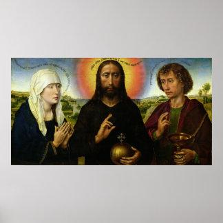 Kristus redeemeren poster
