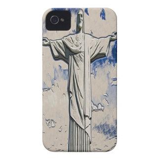 Kristus Redeemerkonsten Case-Mate iPhone 4 Skal