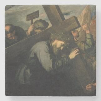 Kristus som bär kor, 1635 stenunderlägg