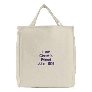 Kristus vän broderad kasse