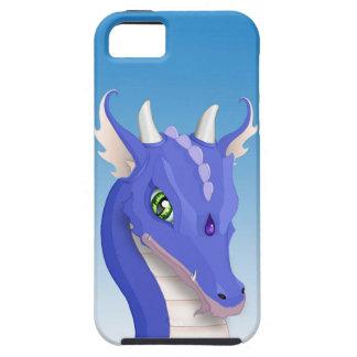 Kritisera blåttdraken iPhone 5 fodral
