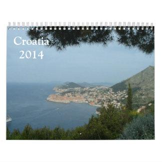 Kroatien 2014 kalender