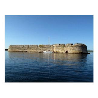 Kroatien - fästning för St. Nikola Vykort