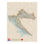 Kroatien för KARTAVYKORT♥ Vykort