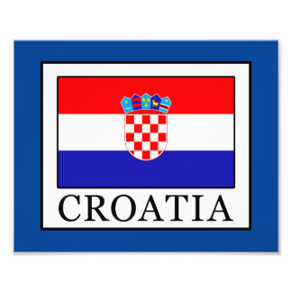 Kroatien Fototryck