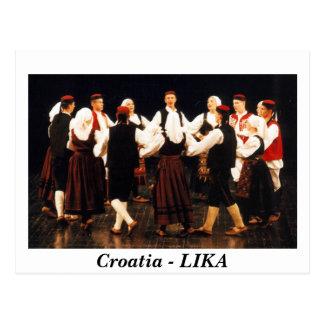 Kroatien - LIKA Vykort