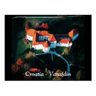 Kroatien - Varaždin Vykort