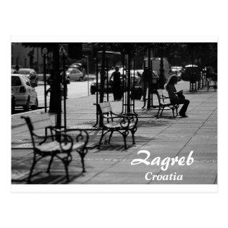 Kroatien - Zagreb Vykort