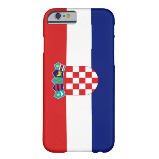 Kroatienflagga Barely There iPhone 6 Skal