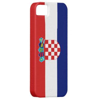 Kroatienflagga iPhone 5 Skydd