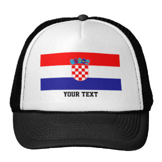 Kroatisk flagga keps