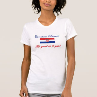 Kroatisk Princess T Shirts