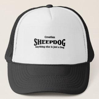 Kroatisk Sheepdog Truckerkeps