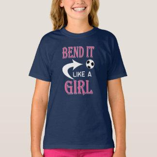 KRÖKNING DET något liknande en fotboll för Tee Shirt