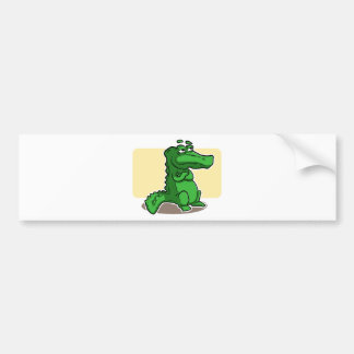 Krokodil Bildekal