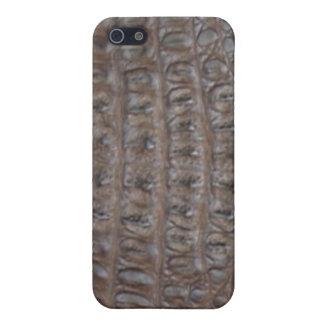 Krokodilen flår iPhone 5 fodral