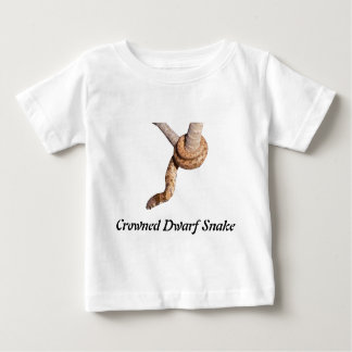 Krönad dvärg- orm t-shirt