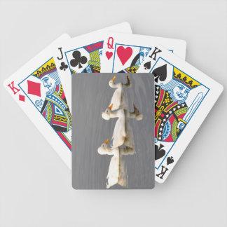 Krönade ankakort spelkort