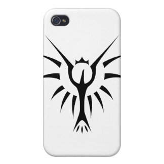 Krönade Phoenix iPhone 4 Cover