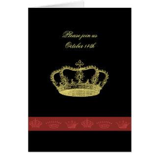 Kronadesigner Hälsningskort