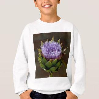 Kronärtskocka Cynara Cardunculus, i flower. T-shirts