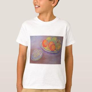 Kronärtskocka, orangar och mango tröja