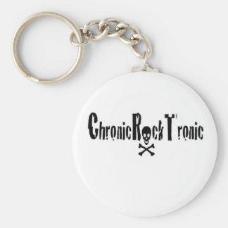 Kronisk sten Tronic utrustar Rund Nyckelring
