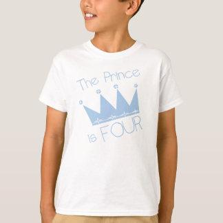Kronprins4e födelsedagen tshirts