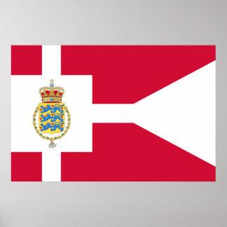 Kronprins av Danmark Grönland Affisch