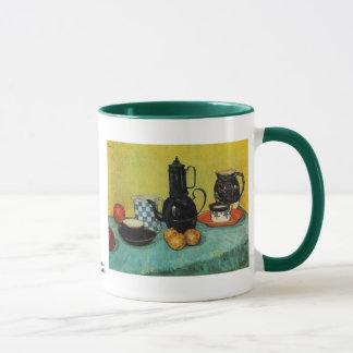 Kruka för blåttemaljkaffe av Vincent Van Gogh Mugg