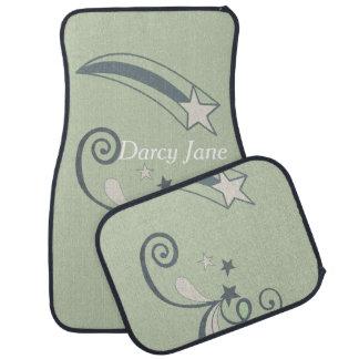 Krusidull för stjärnor för skytte för golvmatta