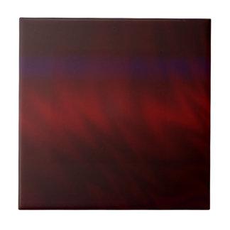 Krusig mörk - röd abstrakt kakelplatta